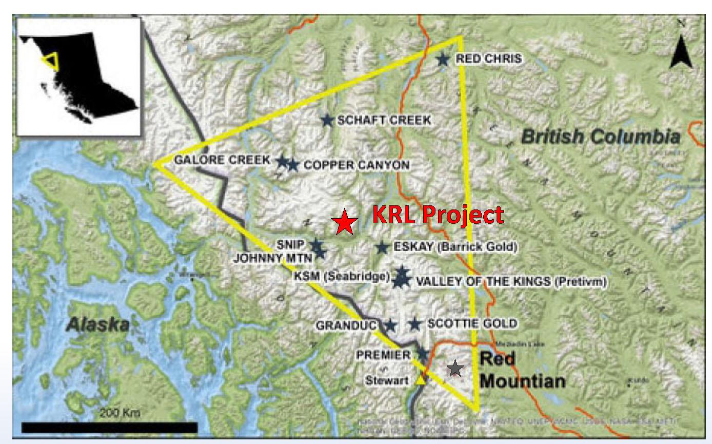 KRL Gold Project - Alianza Minerals Ltd
